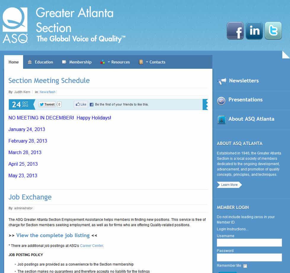 ASQ Atlanta