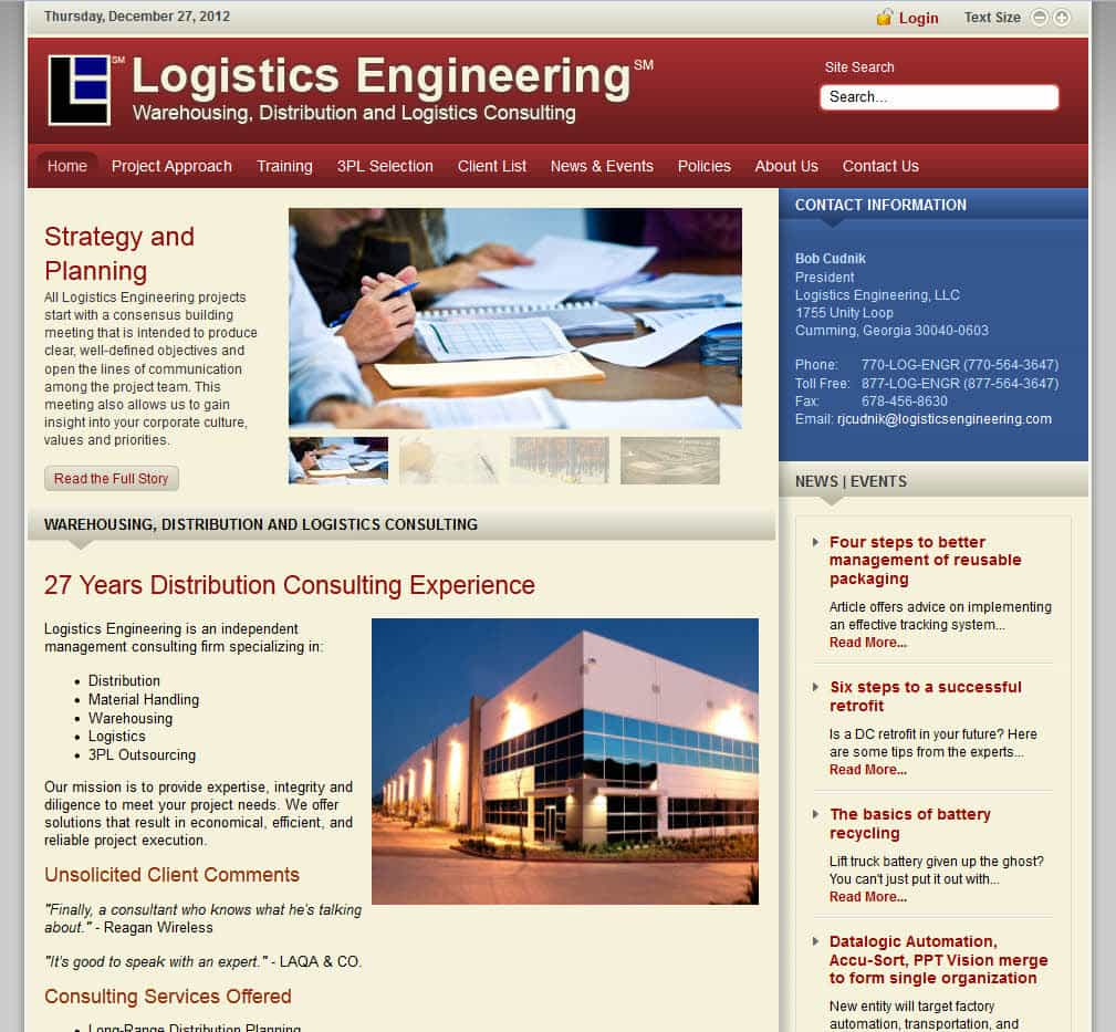 Logistics Engineering