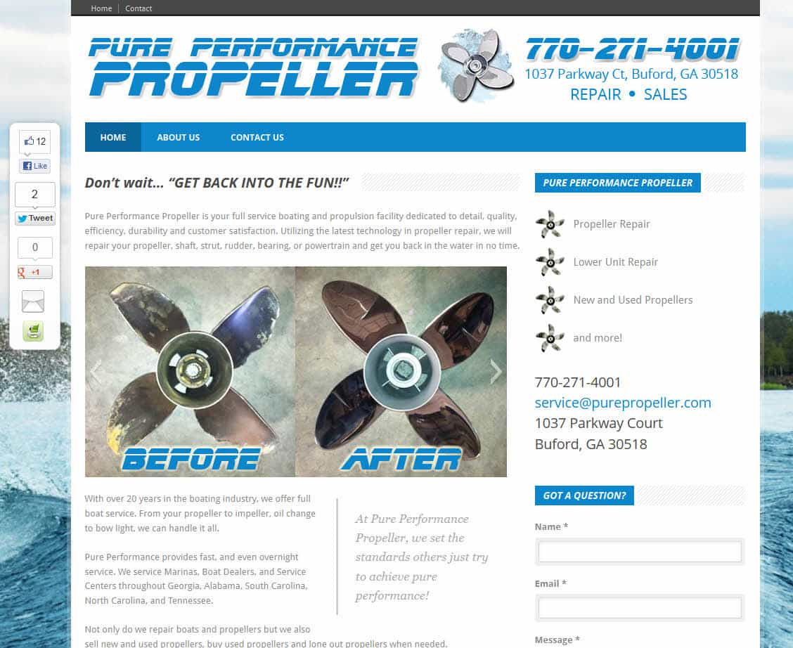 Pure Performance Propeller