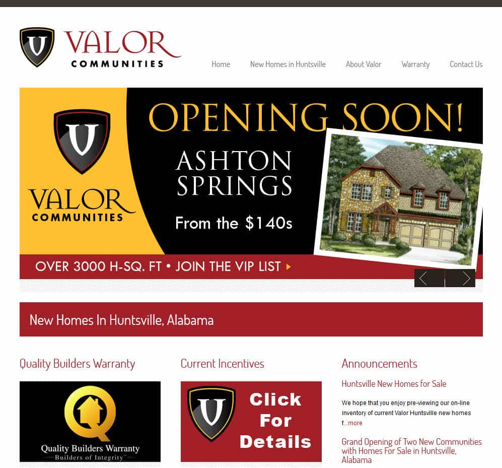 Valor Communities