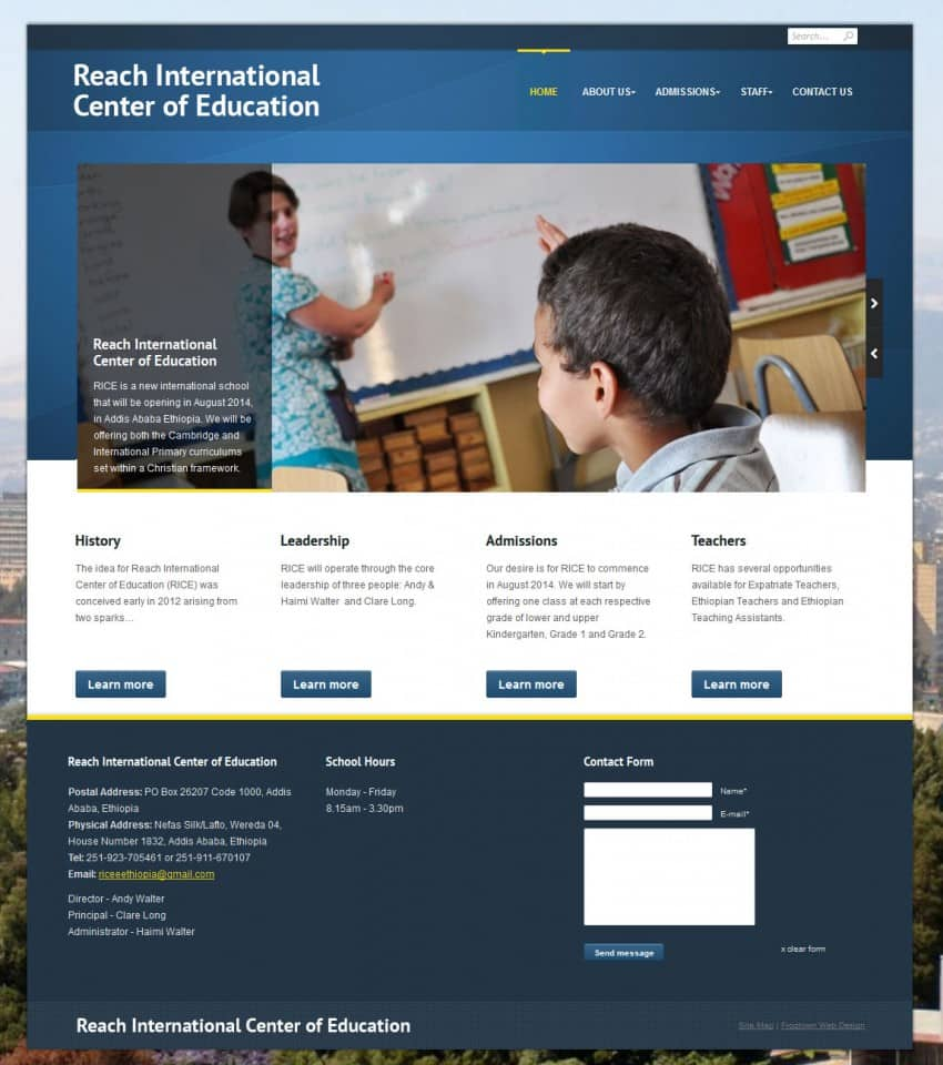 Reach International Center of Education