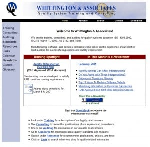 Whittington Associates 1999