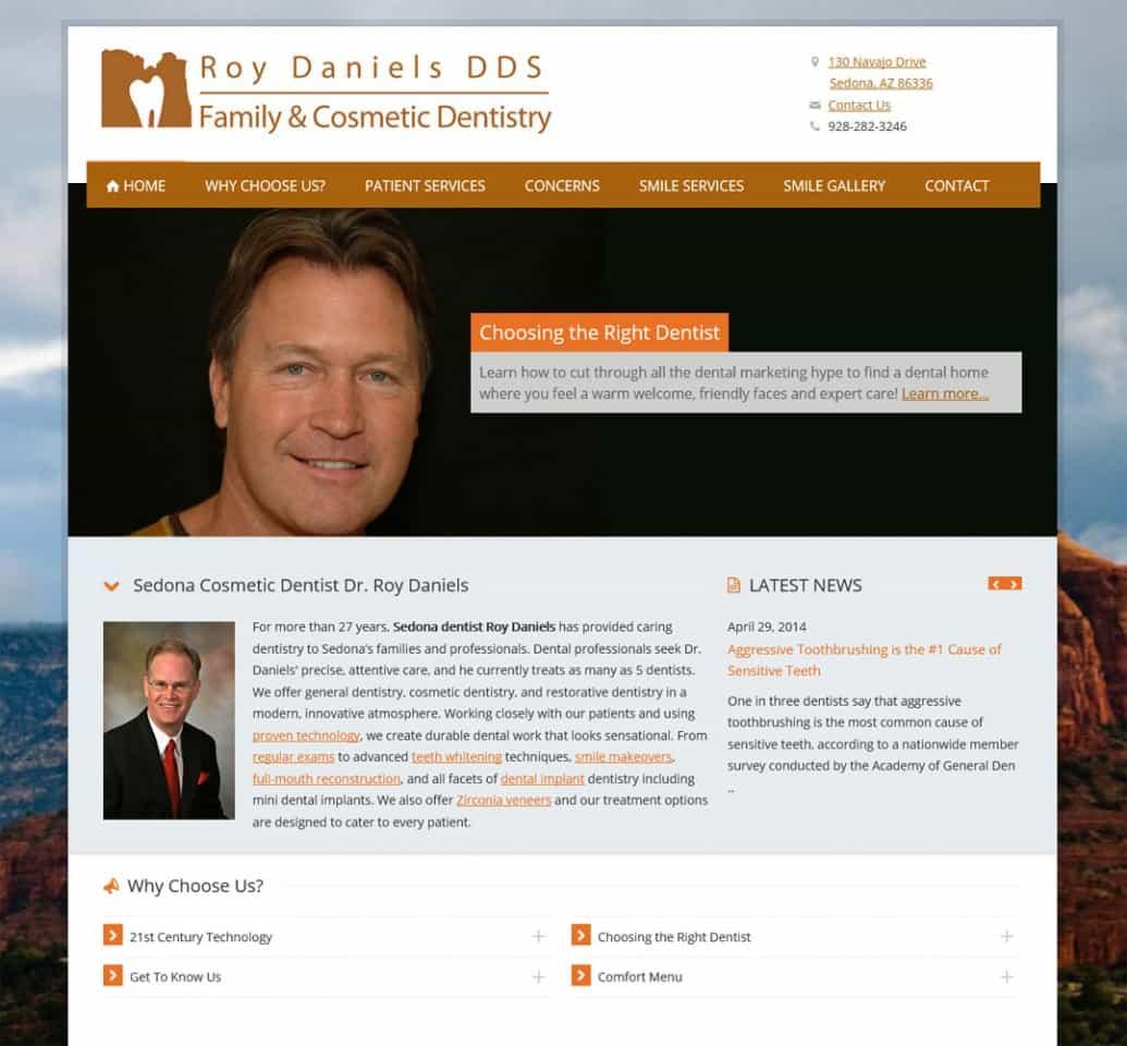 Sedona, AZ Dentist Roy Daniels