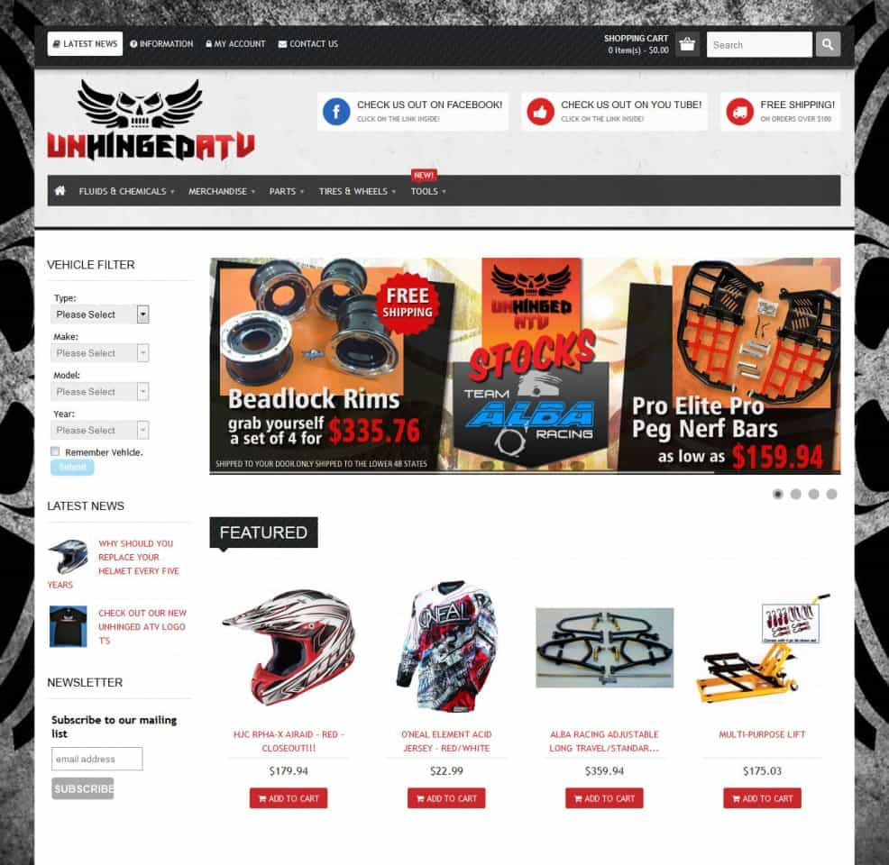 Unhinged ATV Parts and Accessories