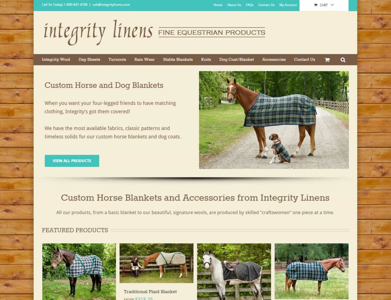 Integrity Linens – Custom Horse Blankets and Accessories