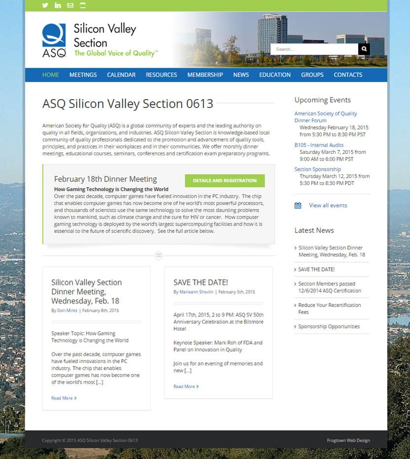 ASQ Silicon Valley Section 0613