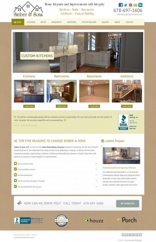 Sieber & Sons Remodeling