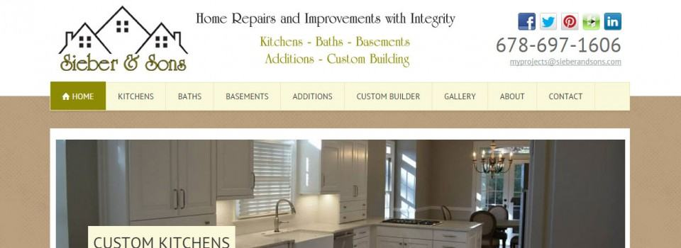 Sieber & Sons Kitchen Bath Remodeling