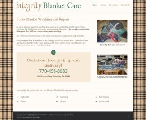 Integrity Horse Blanket Washing
