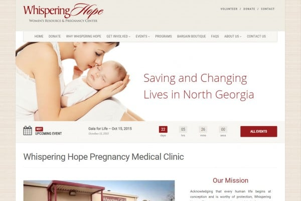 Support Whispering Hope