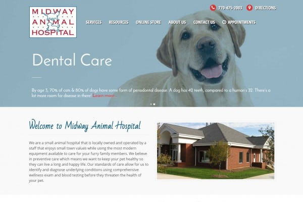 MIdway Animal Hospital - WordPress