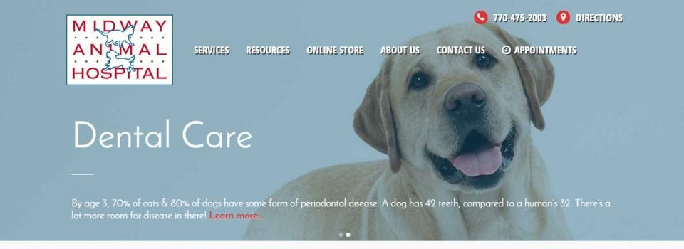 MIdway Animal Hospital - WordPress