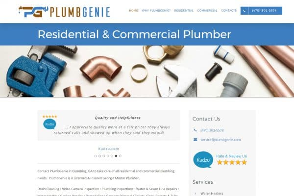 PlumbGenie - Georgia Master Plumber