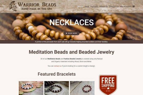 Warrior Beads Meditation Beads