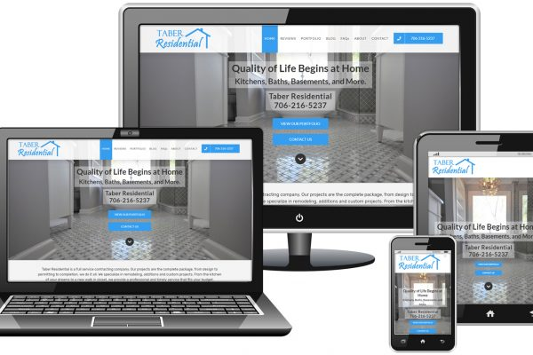 Taber Residential Website