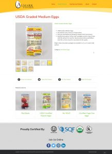 Almark Eggs Product View